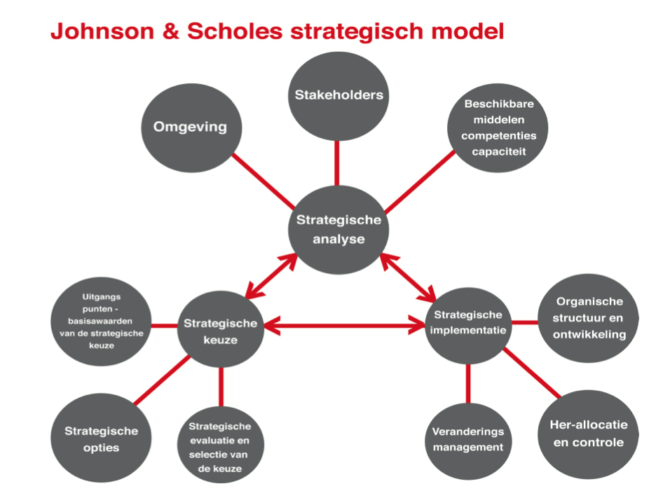 Johnson & Scholes Strategisch model