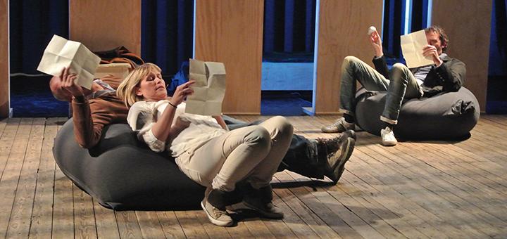 Theatervoorstelling Springtij: zorgprofessionals confronteren met kernwaarden