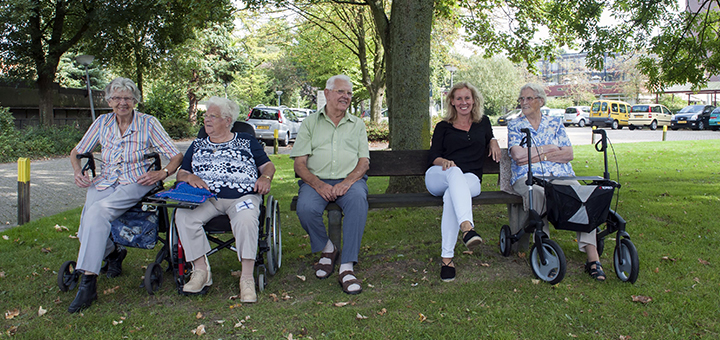 Transmurale ouderenzorg slaat brug tussen disciplines