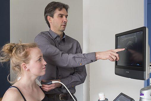 Echografie van belang in substitutiepilot bewegingsapparaat