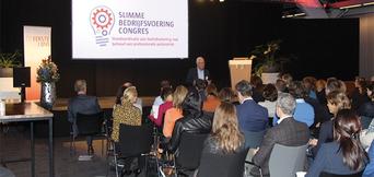 Eerstelijns congres Slimme bedrijfsvoering inspireert