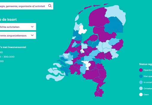 Regiokaart: nuttig voor vervolgstappen samenwerking