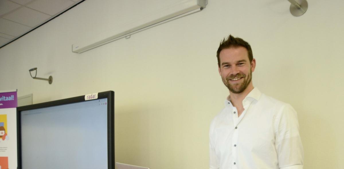 Wethouder Sven de Langen lanceert digitale valpreventiecursus